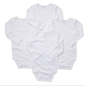 Baby 4 pack The Original Solid Bodysuits